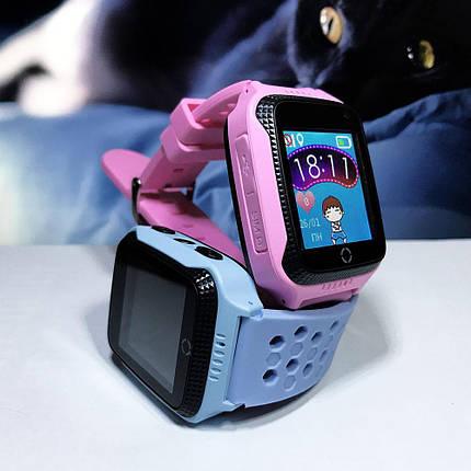 Детские смарт часы Smart Baby Watch Q529 голубые и розовые, фото 2