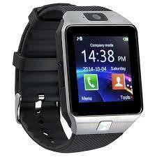 Умные смарт часы Smart Watch DZ09 мужские часы серебряные