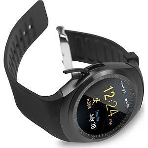 Умные часы, smartwatch Y1 черные и серые. Мужские