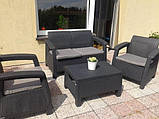 Комплект садових меблів Keter Corfu ( Keter Corfu Set ), фото 5