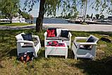 Комплект садових меблів Keter Corfu ( Keter Corfu Set ), фото 8