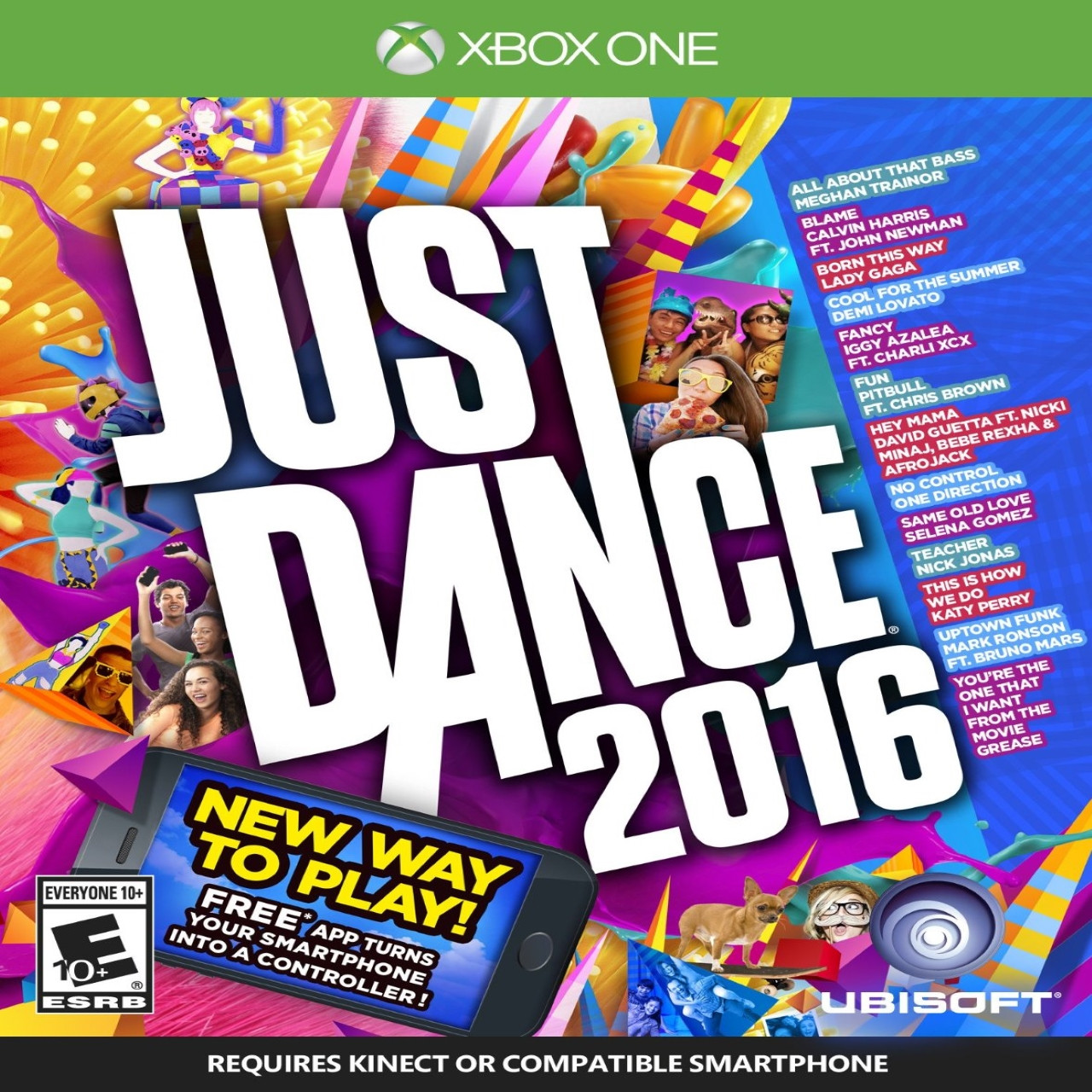 Just Dance  2016 Xbox One SUB (NEW)