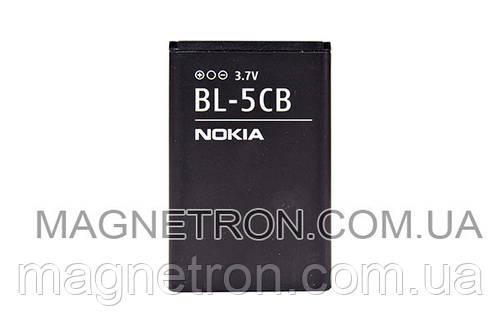 Аккумуляторная батарея BL-5CB Li-ion для телефона Nokia 800mAh