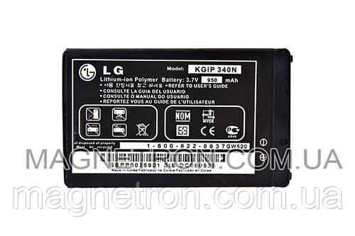 Аккумуляторная батарея KGIP-340N Li-Polymer для мобильных телефонов LG SBPP0026901 950mAh