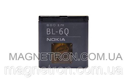 Аккумуляторная батарея BL-6Q Li-Polymer для мобильных телефонов Nokia 970mAh
