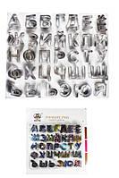 Буквы и цифры кондитерские вырубки