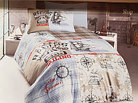 Постельное белье Полуторное Ранфорс ТМ DO&CO HOME Ship