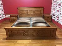Кровать двухспальная (массив ясеня) Я-1