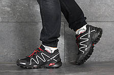 Кроссовки мужские Salomon,кроссовки для бега,черно-белые, фото 3