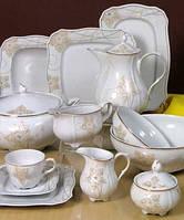 Сервиз столовый фарфоровый 6/23 Romantika 0947,Сервиз чайный 6/15 Romantika 0947