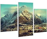 Модульная картина на холсте YS-Art 96х70см Пейзаж HMD124, КОД: 1081496