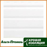 Панель софит Альта-Профиль, Белый, размер: 3,0х0,232м