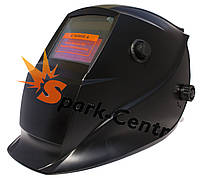 Сварочная маска хамелеон WH-601 Black (2 сенсора)