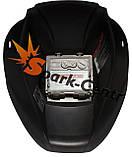 Сварочная маска хамелеон WH-601 Black (2 сенсора), фото 2