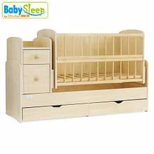 Кроватка-трансформер Baby Sleep (Angela) DTP-S-B, Naturholz