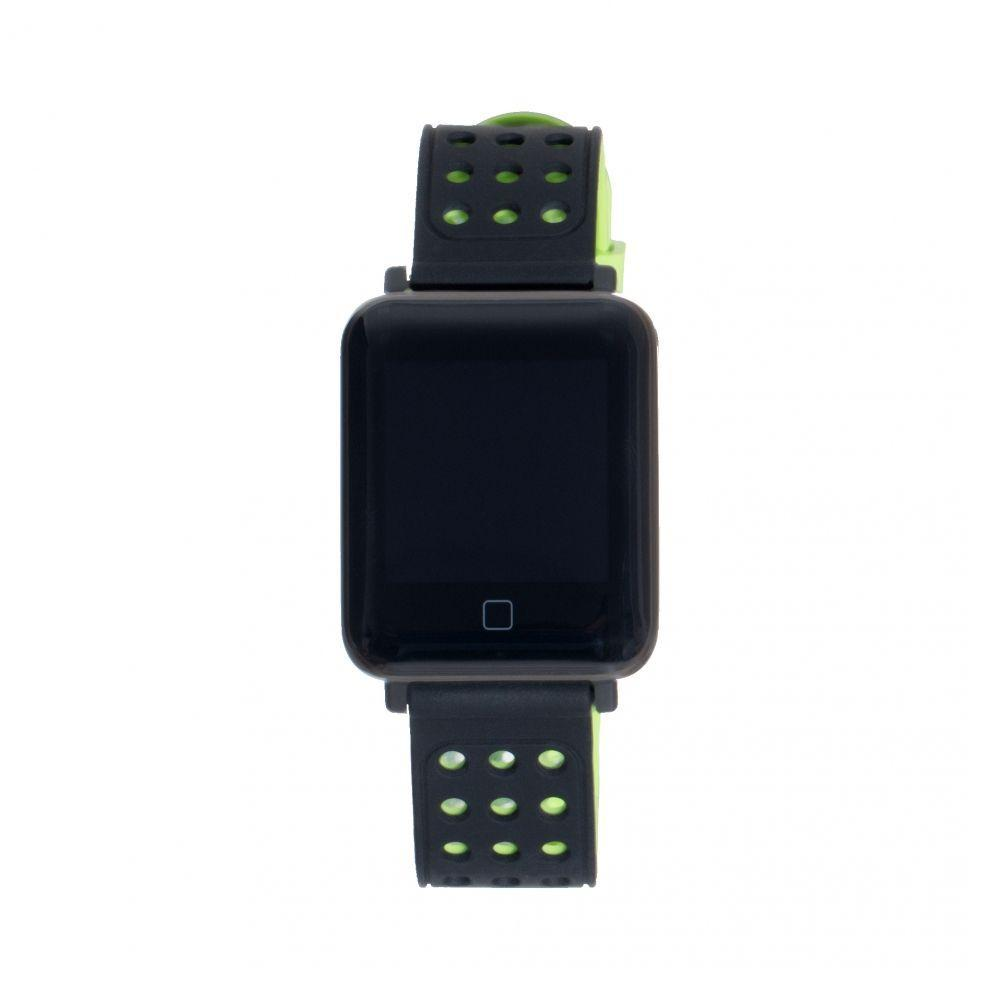 Фитнес-Трекер M98 Цвет Чёрно-Зелёный