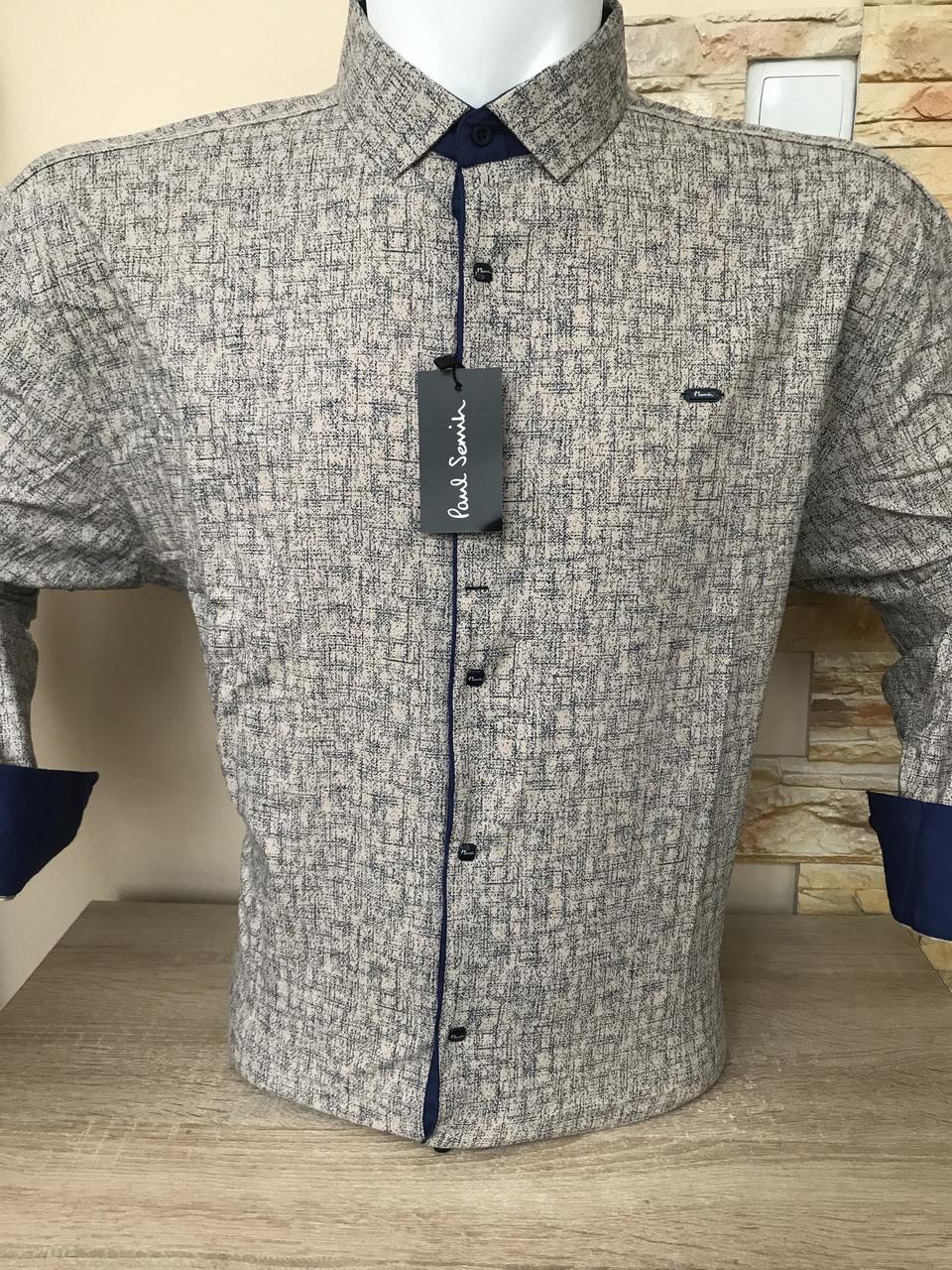 Рубашка супербатальная Paul Smith с принтом