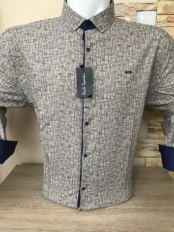 Рубашка супербатальная Paul Smith с принтом, фото 2