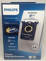 Набір мішків Philips FC8021/03 883802103010 для серії S-BAG Classic Long Performa 4шт