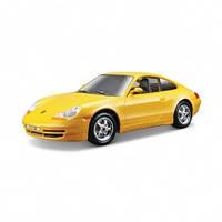 Авто конструктор porsche 911 carrera желтый 1:24
