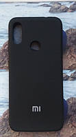 Чехол Silicone Cover Xiaomi Redmi 7 (Black)