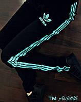 Спортивные штаны Adidas(коп) черный, фото 1