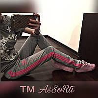 Спортивные штаны Adidas(коп) серый, фото 1