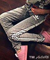 Спортивные штаны Adidas(коп) серый