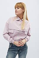 Куртка стильная легкая женская розовая LS-8786-15, фото 1