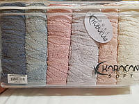 Махровое полотенце 50*90 Karacan SOFT PAHALI Турция