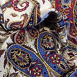 Восточные сладости 1429-14, павлопосадская шаль шелковая с шелковой бахромой   Стандартный сорт, фото 2