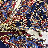 Восточные сладости 1429-14, павлопосадская шаль шелковая с шелковой бахромой   Стандартный сорт, фото 6