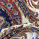 Восточные сладости 1429-14, павлопосадская шаль шелковая с шелковой бахромой   Стандартный сорт, фото 3