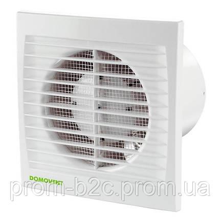 Вентилятор Домовент 100 С1Т с таймером, фото 2