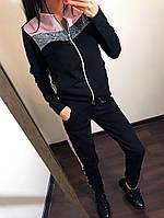 """Женский спортивный костюм """"Люрекс на молнии"""", фото 1"""