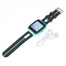 Детские Смарт Часы S4 GPS с сенсорным экраном Цвет Зеленый + Подарок, фото 3