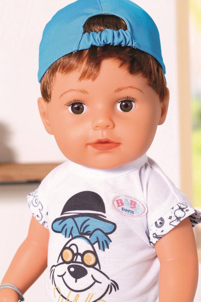 Кукла пупс для девочки Baby Born Оригинал Бэби Борн Нежные объятия Стильный Братик Zapf 826911