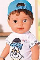 Кукла пупс для девочки Baby Born Оригинал Бэби Борн Нежные объятия Стильный Братик Zapf 826911, фото 1