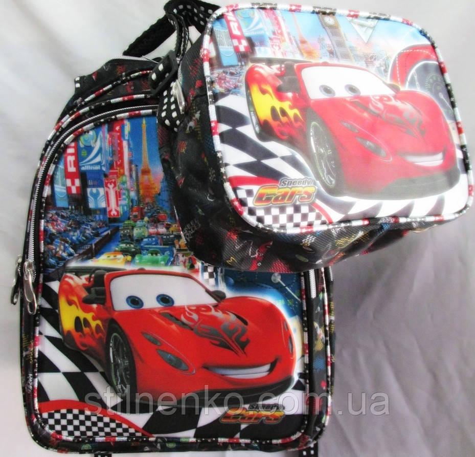 Рюкзак детский с ортопедической спинкой+сумка  пр-во Турция