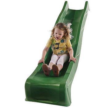 Детская горка PRO+ пластиковая 3 м (Бельгия) Зеленая