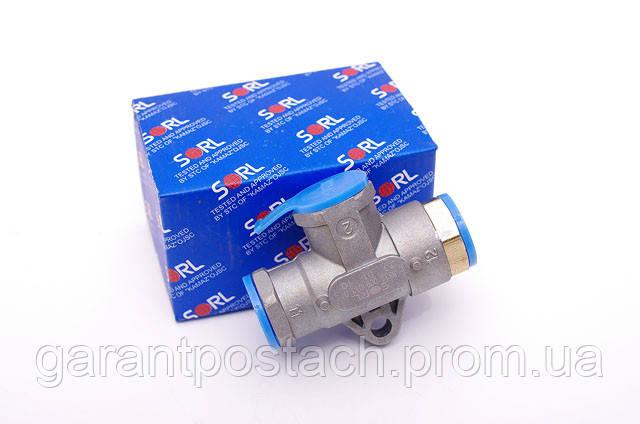 Клапан двухмагистральный КамАЗ (SORL) 35330090130 / 100-3562010
