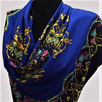Брендовый шелковый платок KENZO шёлк