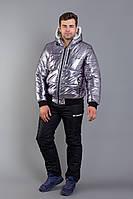 Костюм мужской зимний из плащевки с курткой на меху Копия (К28896), фото 1