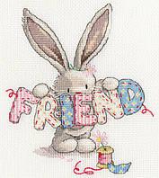 Набор для вышивания Bothy Threads XBB16 Bebunni Friend Cross Stitch Kit