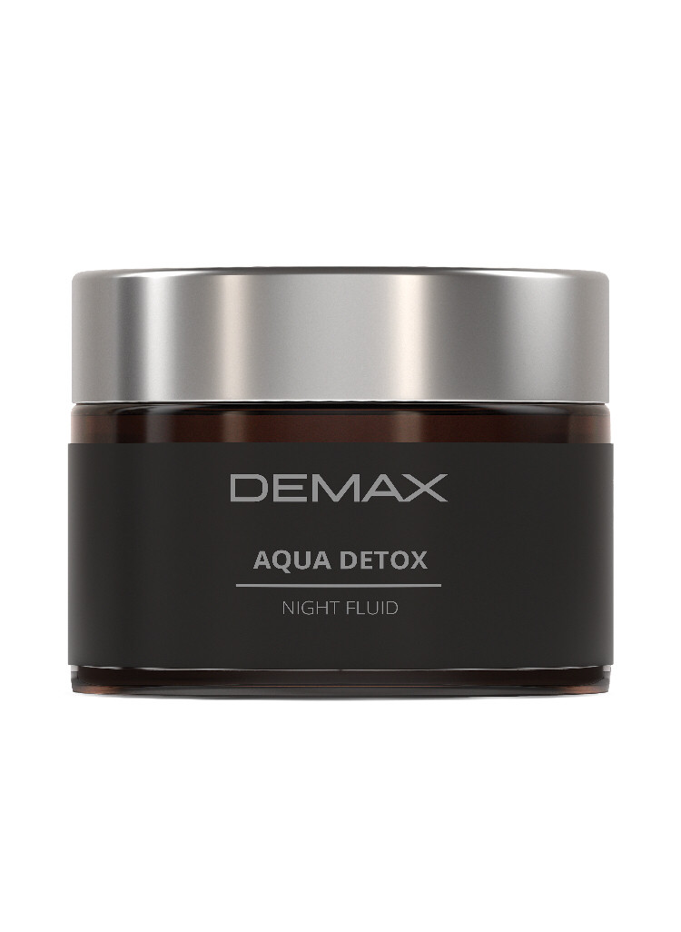 Крем для лица Детокс ночной аква флюид Demax Аqua detox night fluid 50ml арт.123