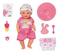 Кукла для девочек пупс Baby Born Оригинал Беби Борн Нежные объятия Милая Кроха Zapf Creation 827321, фото 1