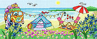 Набор для вышивания Bothy Threads XJR33 Glamping Fun Cross Stitch Kit