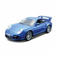 Авто конструктор porsche 911 gt2 голубой 1:32