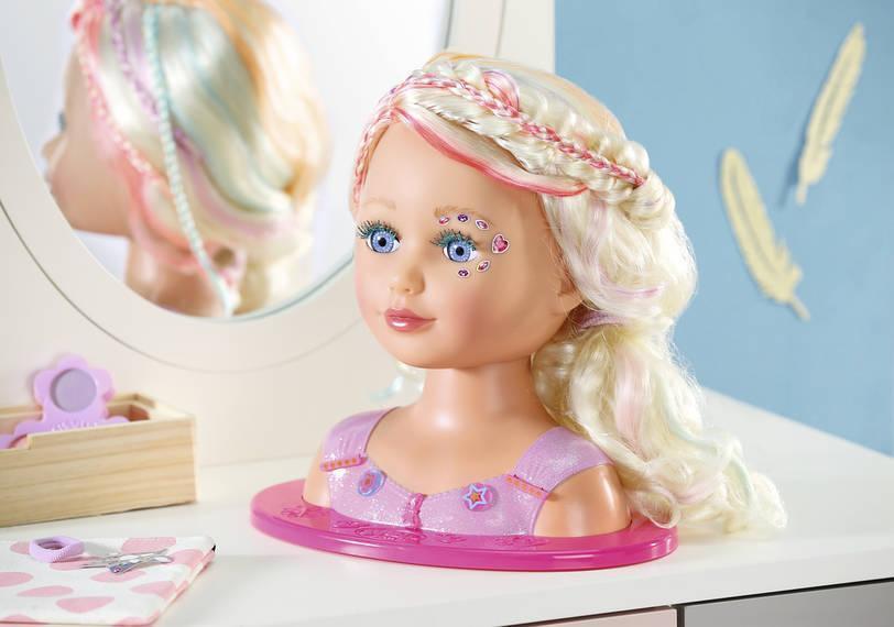 Кукла манекен для причесок и макияжа Baby Born Sister Styling Модный парикмахер Zapf Creation 827307
