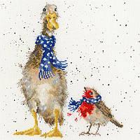 Набор для вышивания Bothy Threads XHD54 Christmas Scarves Cross Stitch Kit